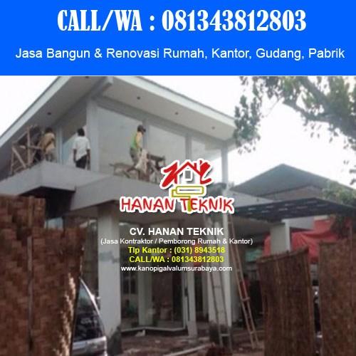 Jasa Bangun Renovasi Borongan 081343812803 Wa